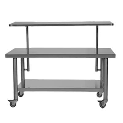 OR Back Table Model 428 Adjustable