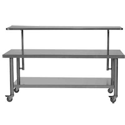 OR Back Table Model 429 Adjustable