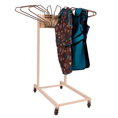 Shielding Mobile Swing Arm Apron Rack Model 811M
