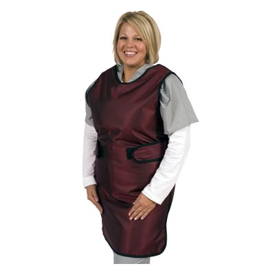 Shielding Wrap Around Flex Back Apron Model WAFB