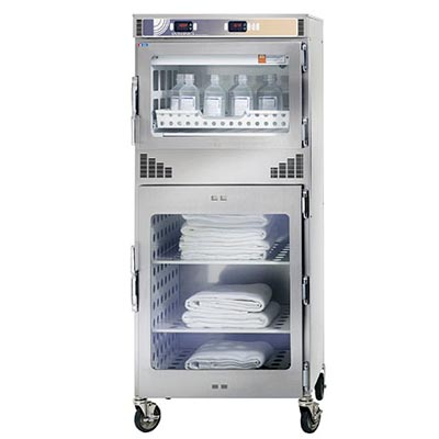 Enthermics EC1730BL Combination Fluid/Blanket Warming Cabinet