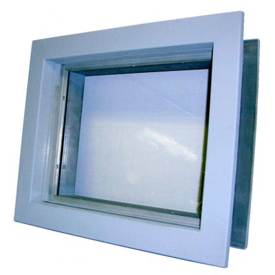 Shielding Leaded Glass Windows Model LG