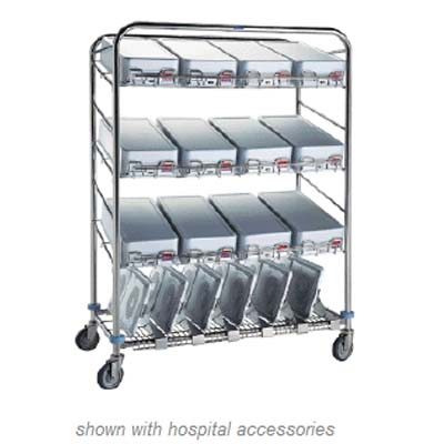 Pedigo Instrument container wash cart CDS-160