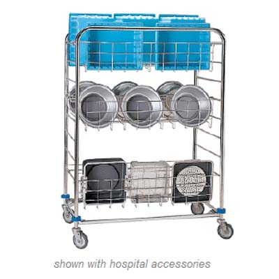 Pedigo Instrument Container wash cart CDS-162