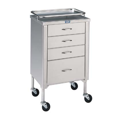Pedigo Anesthetist Cabinet with Drawer Model P-1105-SS