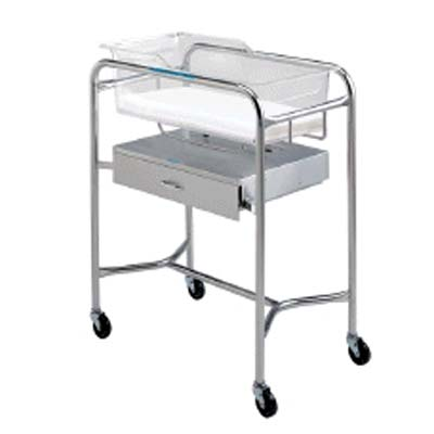 Pedigo Bassinet with Drawer Model P-1110-B-SS