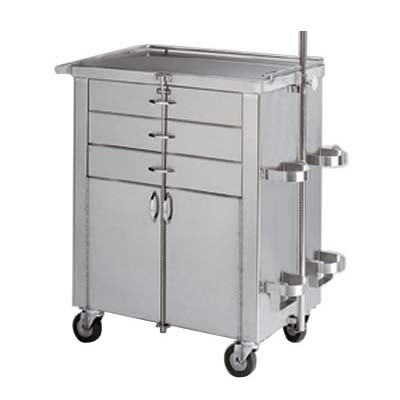 Pedigo Cardiac & Anesthetist Cabinet Model P-7202