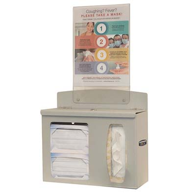 Bowman Respiratory Hygiene Station Locking Model RS002-0212