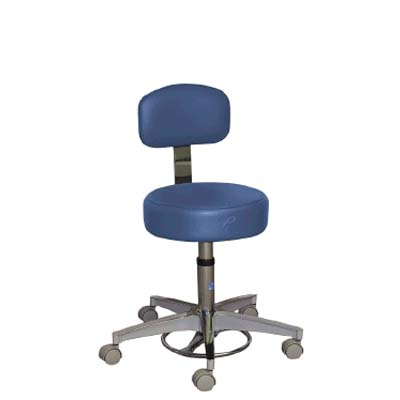 Pedigo Foot Operated Stool Model P-527-GS